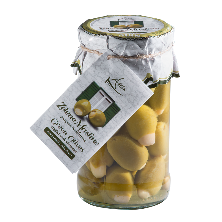 Adria olives filled with almonds