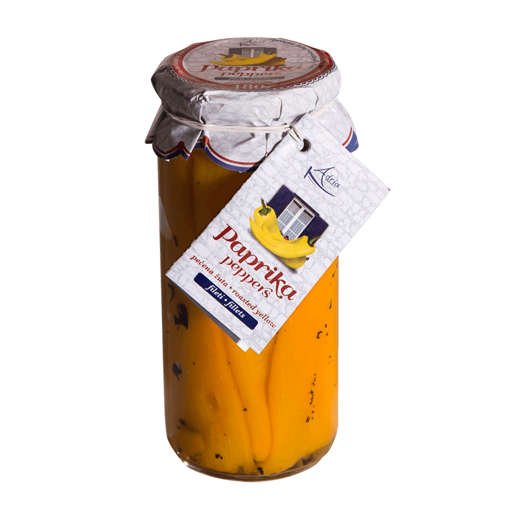 Adria roasted yellow peppers