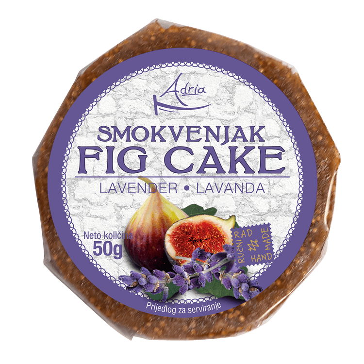 Adria fig cake  with lavender 50g